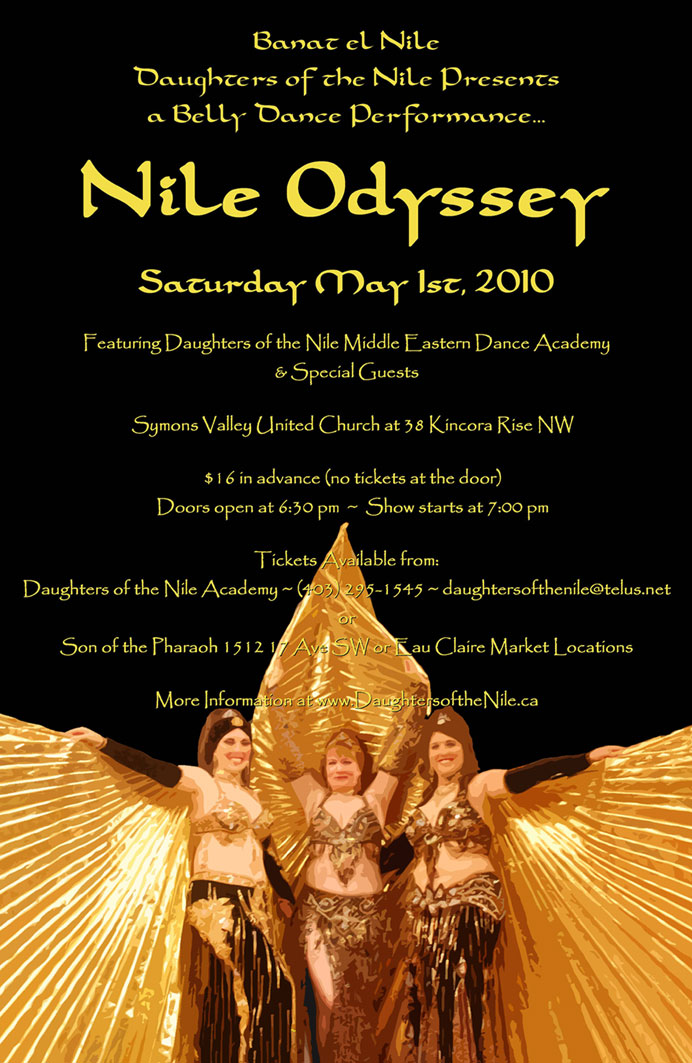 Nile Odyssey 2010 Poster